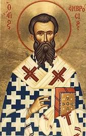 Saint Ambroise de Milan - Une vie donnée pour le Christ dans saints ambrogio
